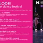 EXPLODE! Queer Dance Festival