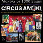 May 21: Circus Amok's Benefit – Monday of 1000 Stars!
